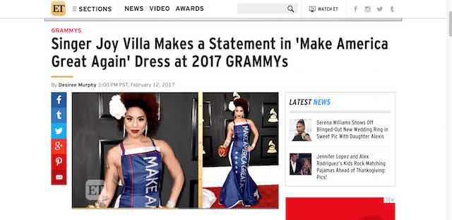 Joy Villa Make America Great Again
