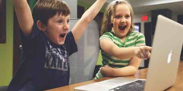 Children Happy With Free Website