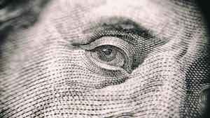 Eye From Dollar Note