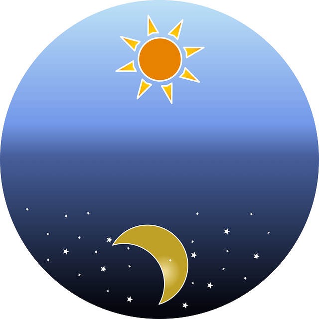 sun and moon- resembling 24h day access